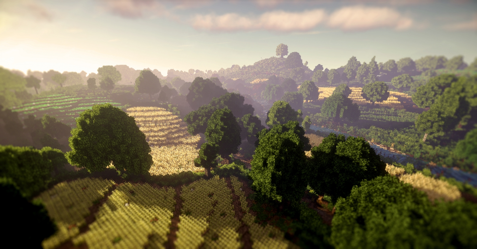 Minecraft users recreate Lord Of The Rings setting The Shire in hit PC game