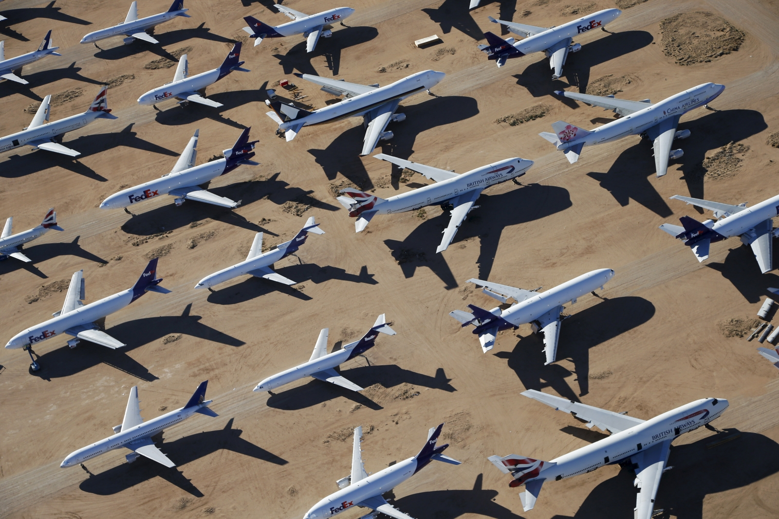 Aircrafts storage, Victorville