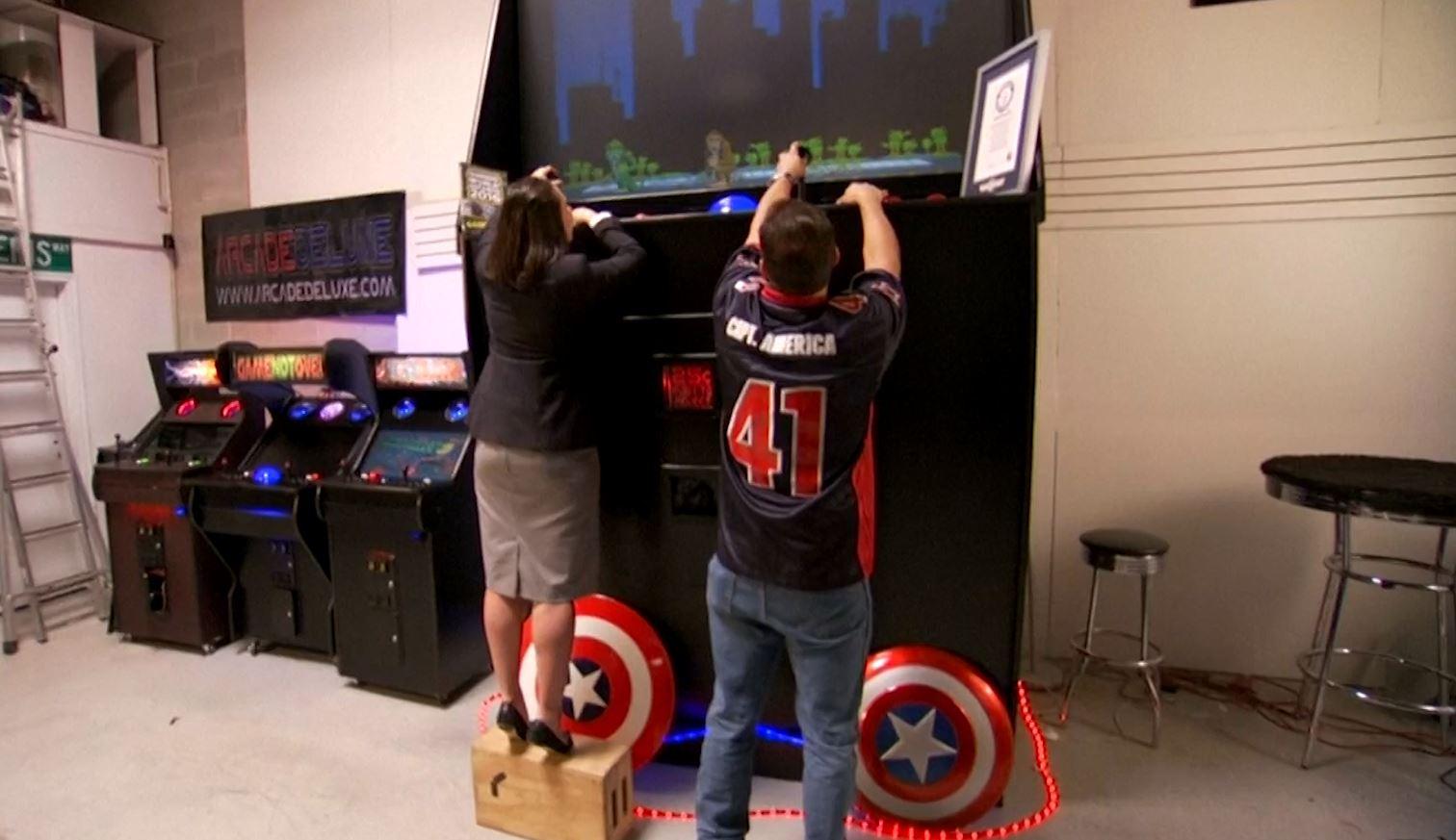 Arcade machine world record 2