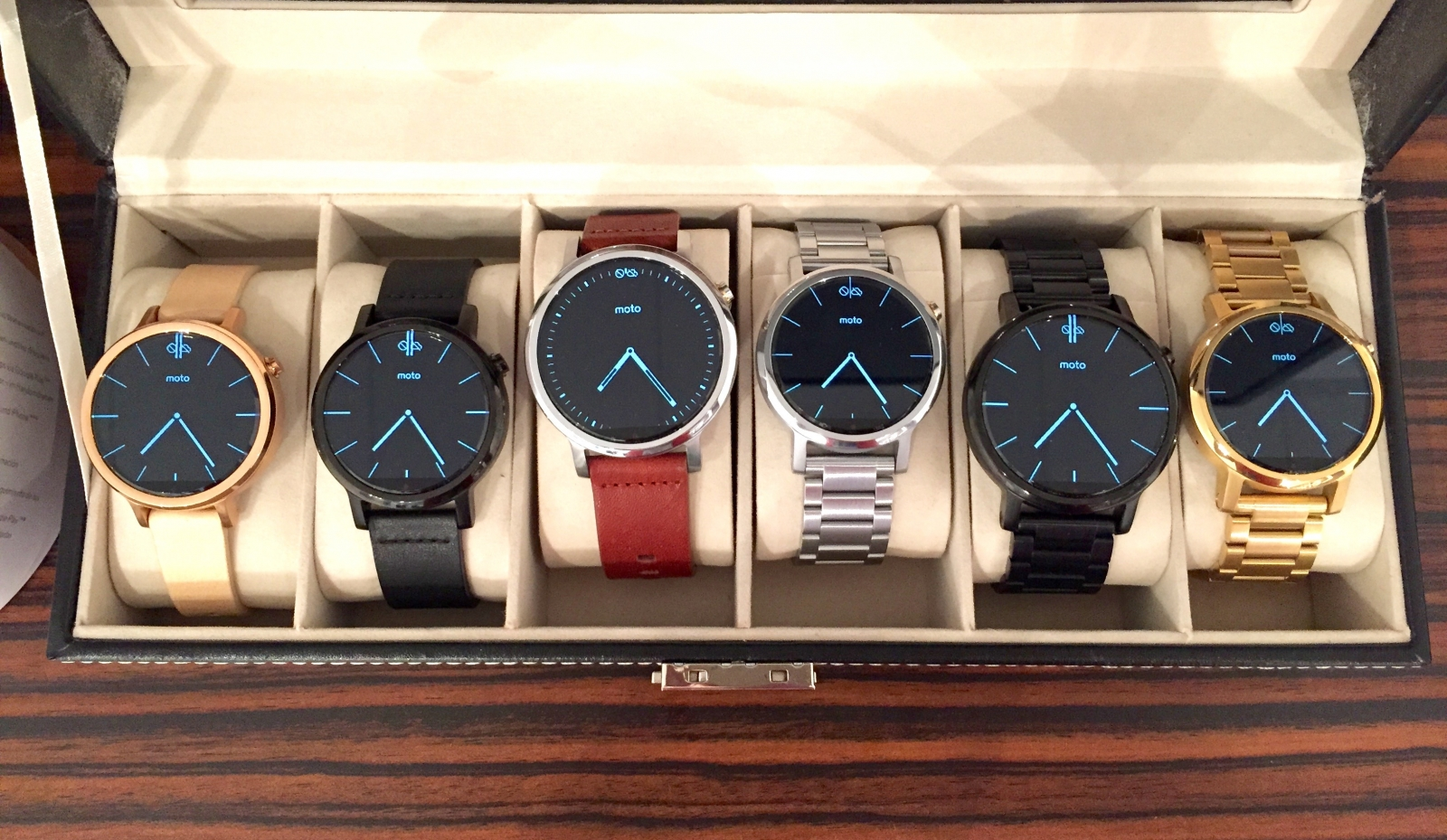 Motorola Moto 360 collection IFA 2015