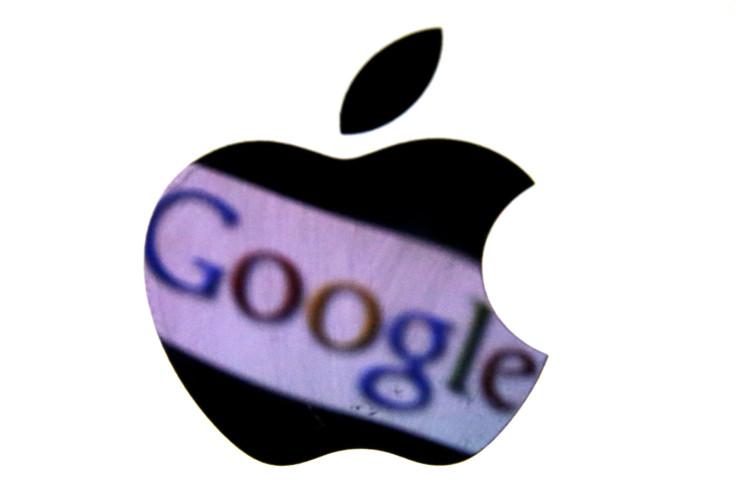 Apple & Google logos