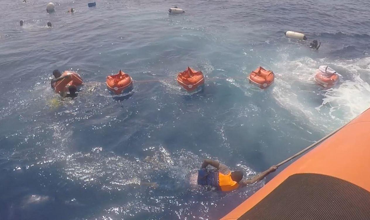 Italian coast guard rescue