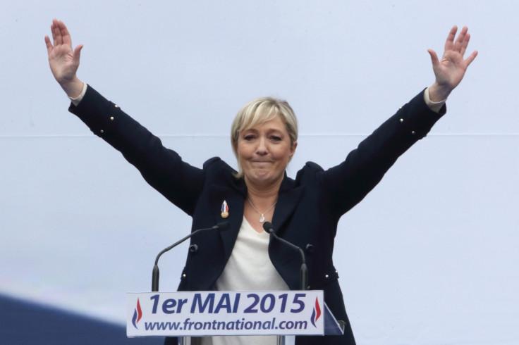 Marine Le Pen against porc-free lunches