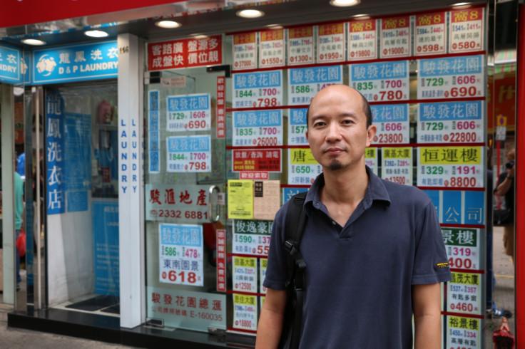 Hong Kong civil rights activist Birdy Chu