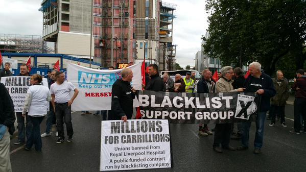 blacklist protest