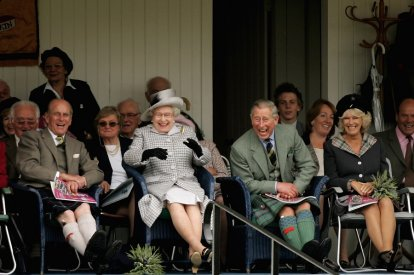 Royal Family at Balmoral
