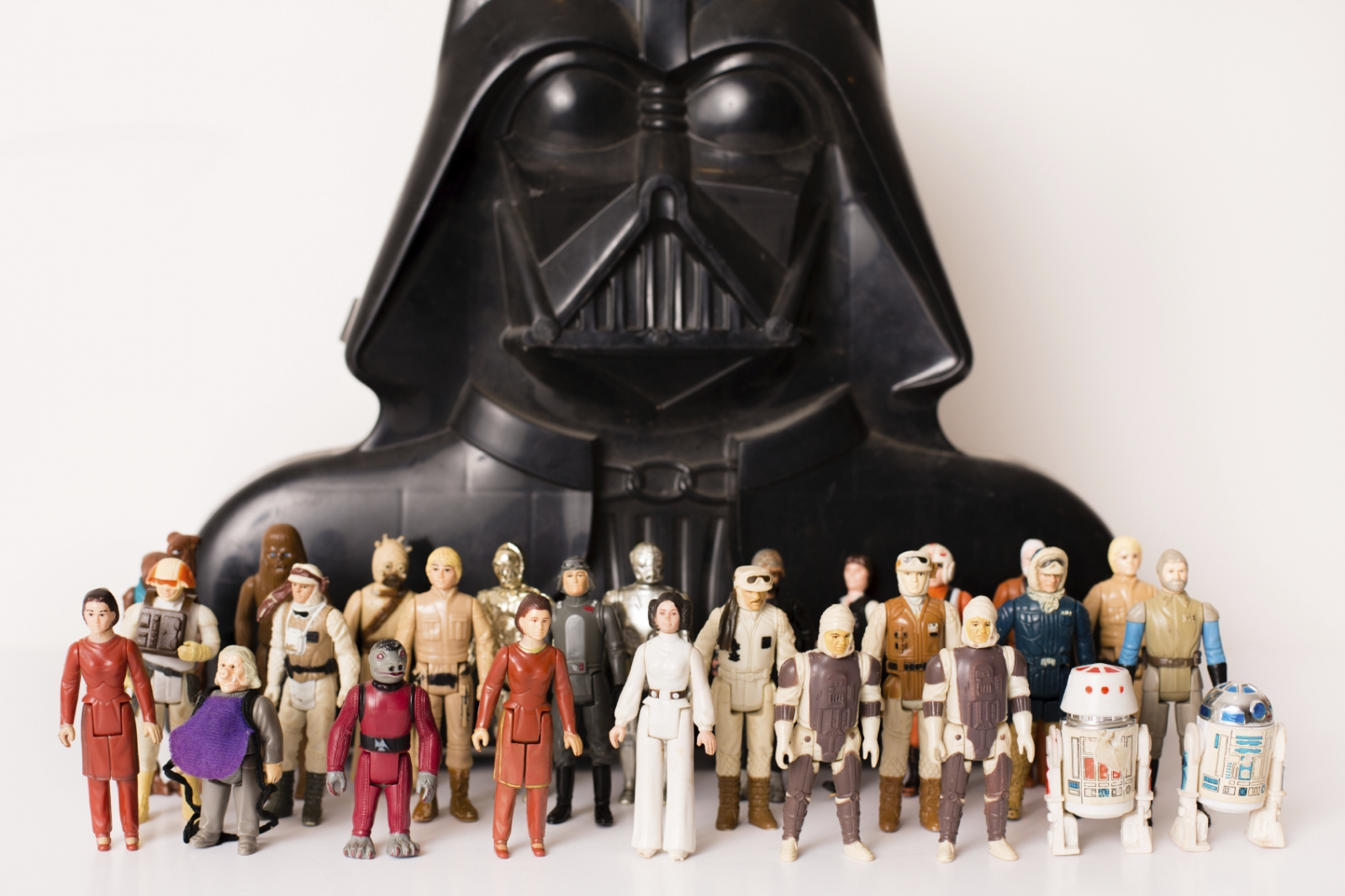 An obsession with collecting toys