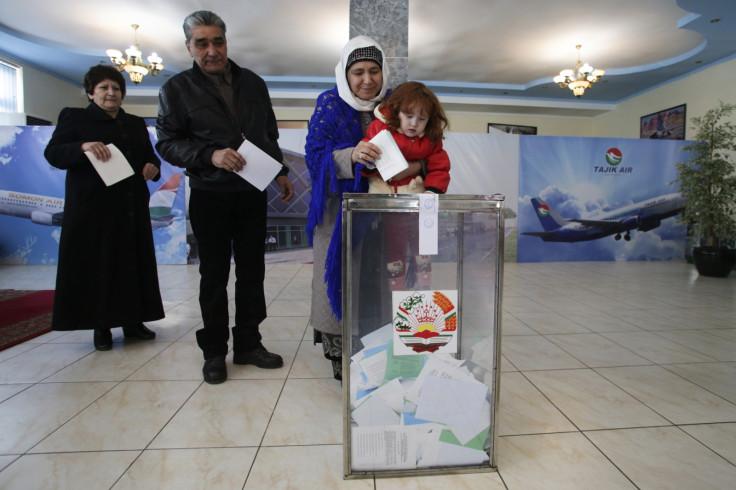 Polling station, Dushanbe