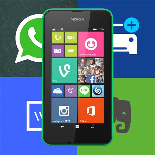 Microsoft Lumia Windows Phone apps
