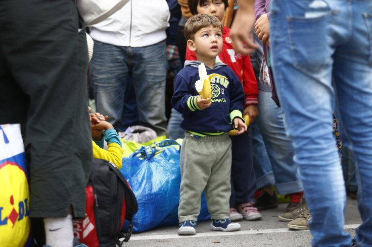 Migrant child Austria