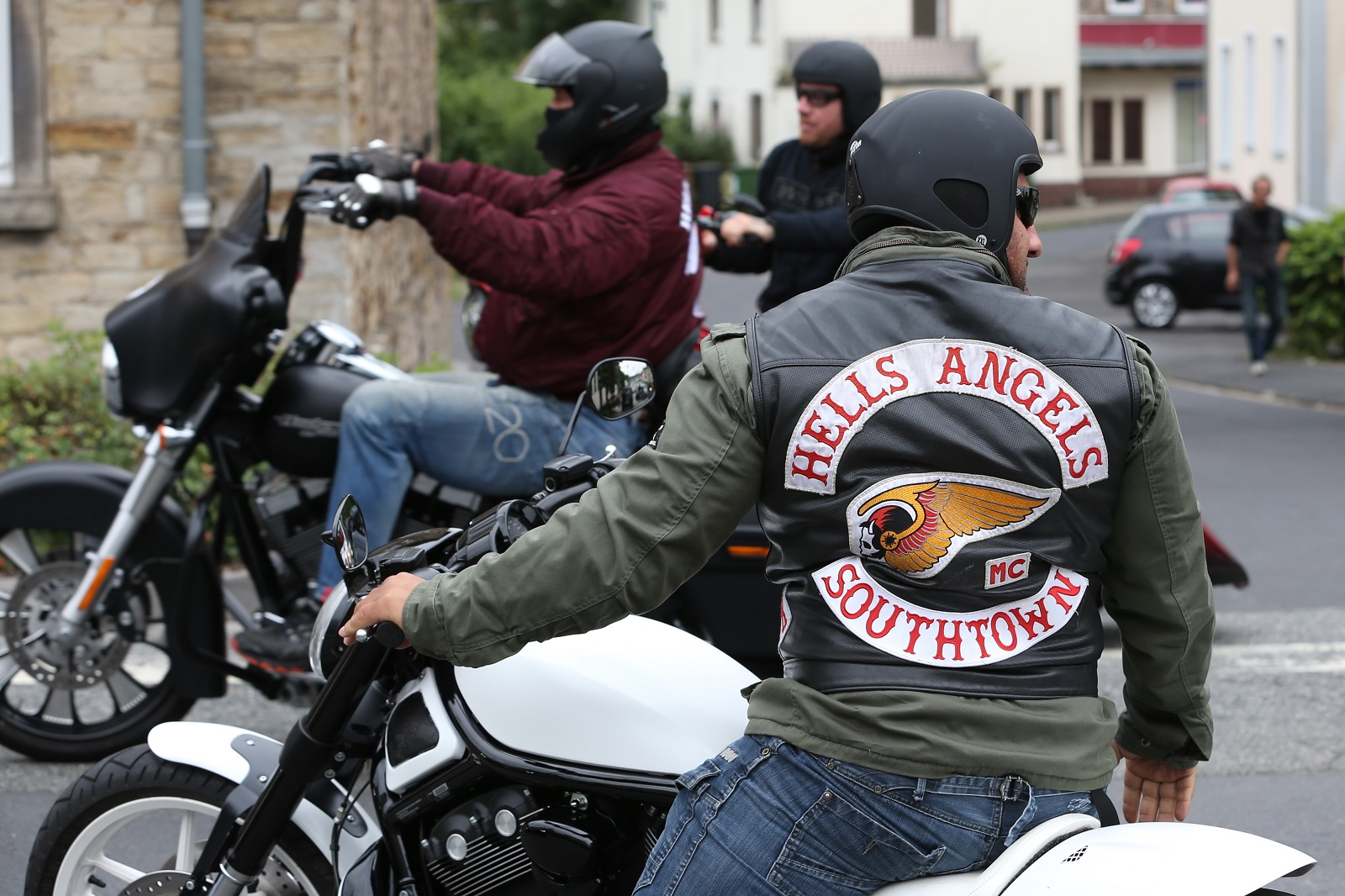 Hell's Angels member Southtown Germany
