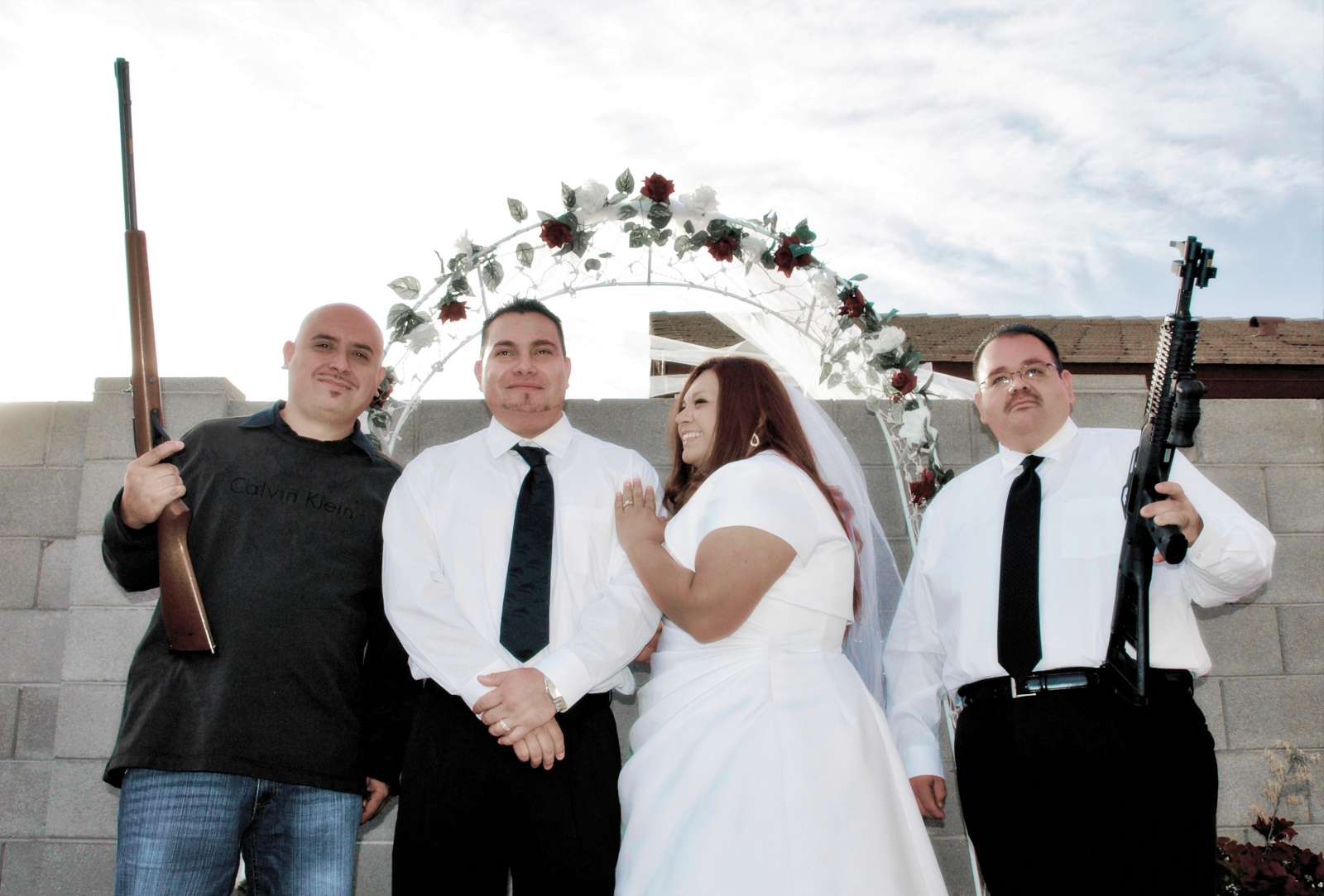 Wedding police operate in russia