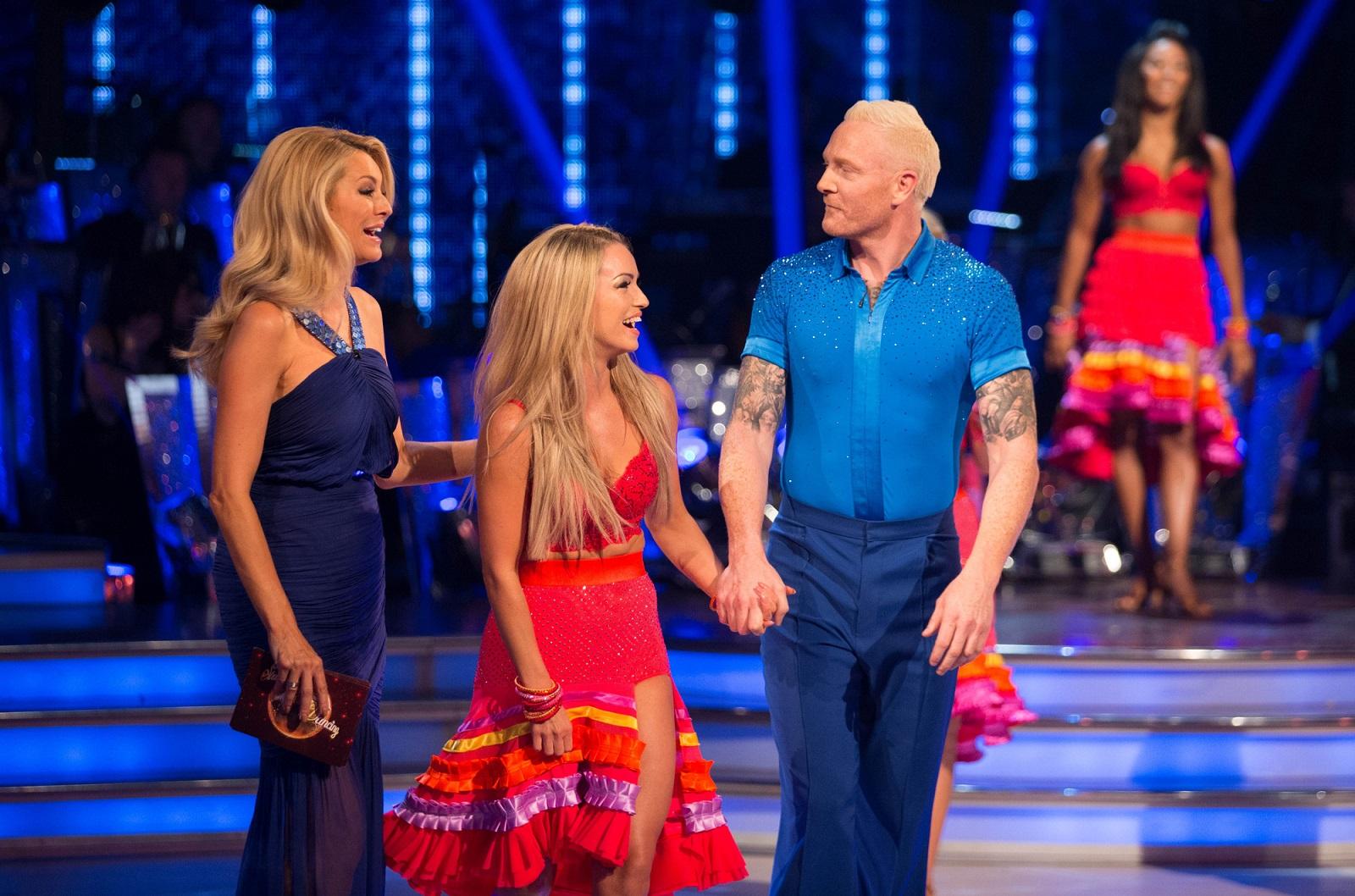 Ola Jordan Iwan Thomas Strictly Come Dancing