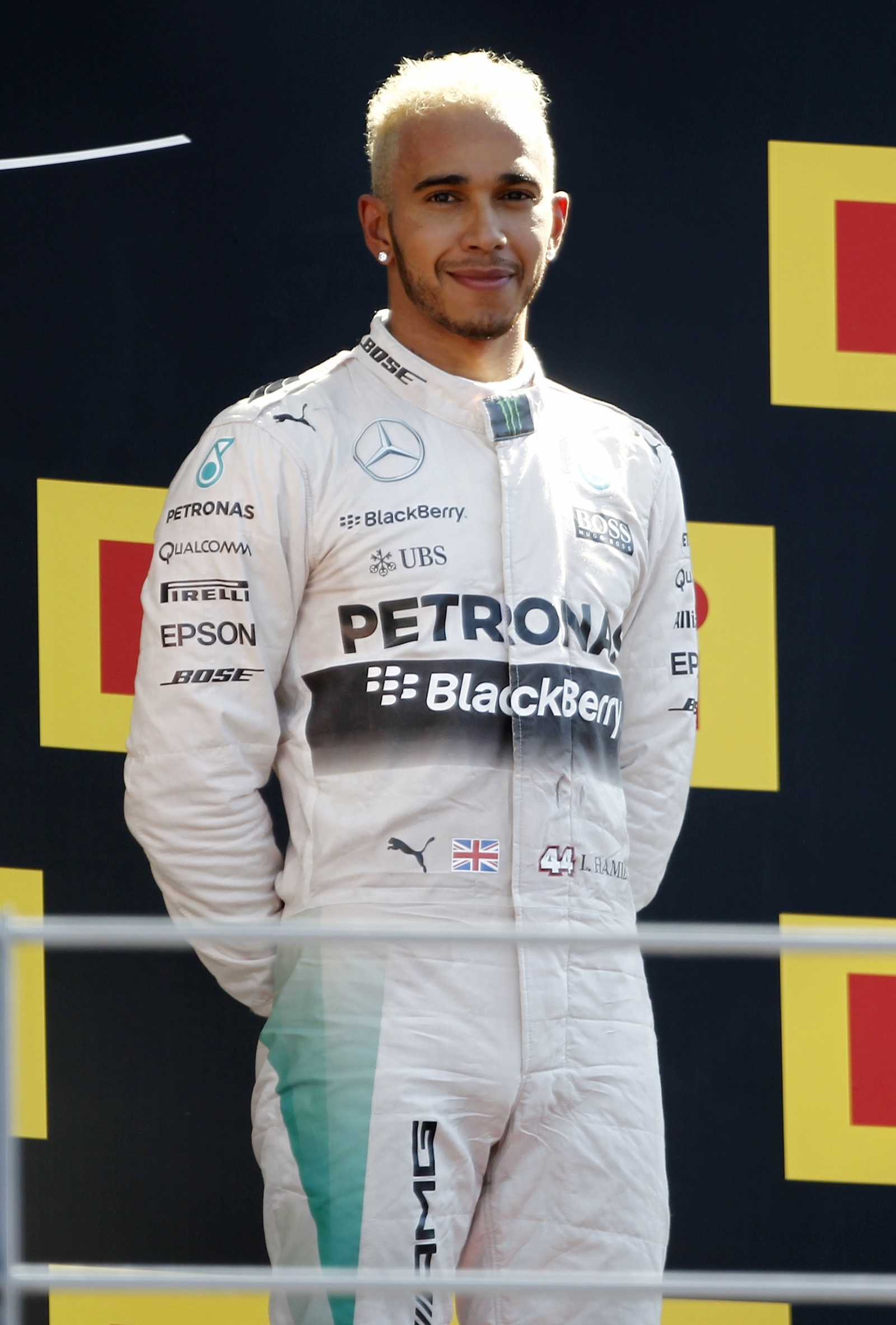 Lewis Hamilton slammed for not removing cap during minute ...