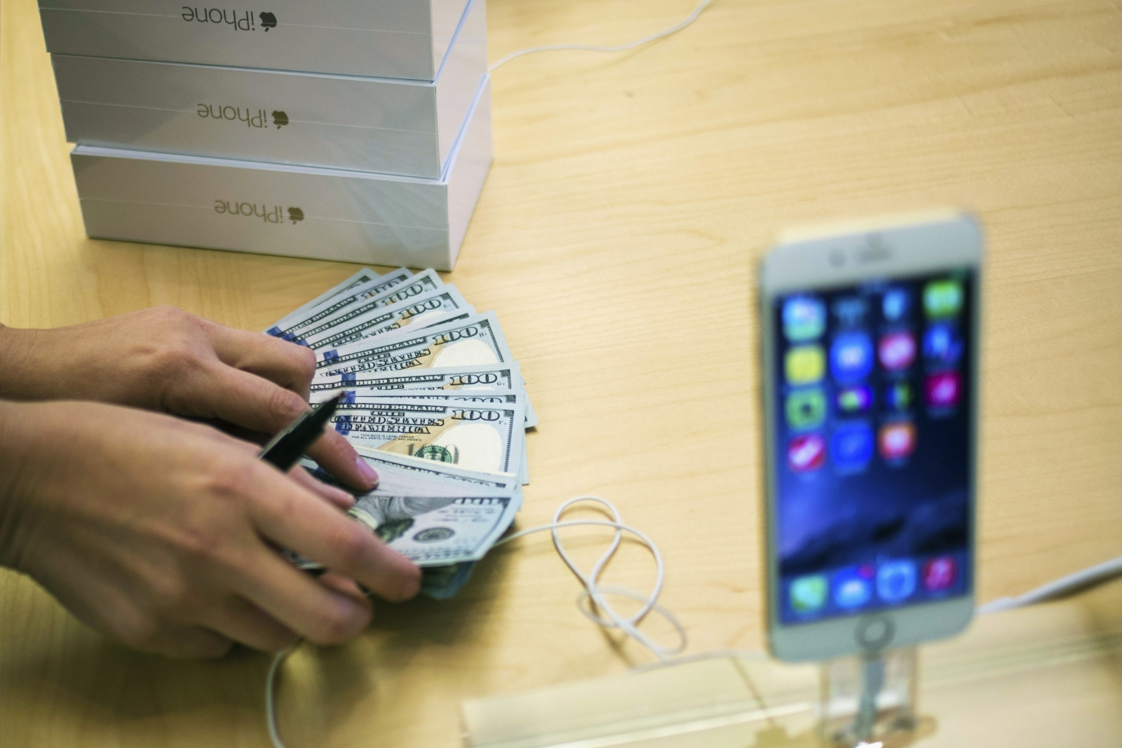 Apple iPhone market