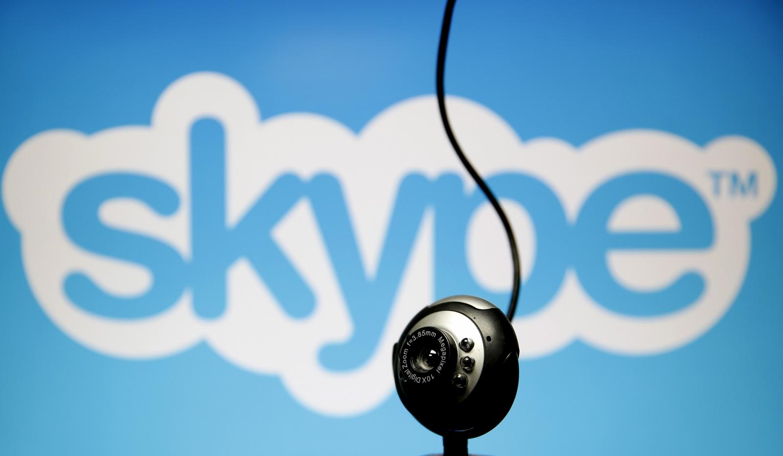 Skype messaging app