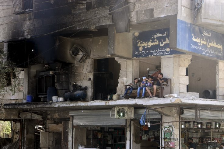 Syria war Aleppo