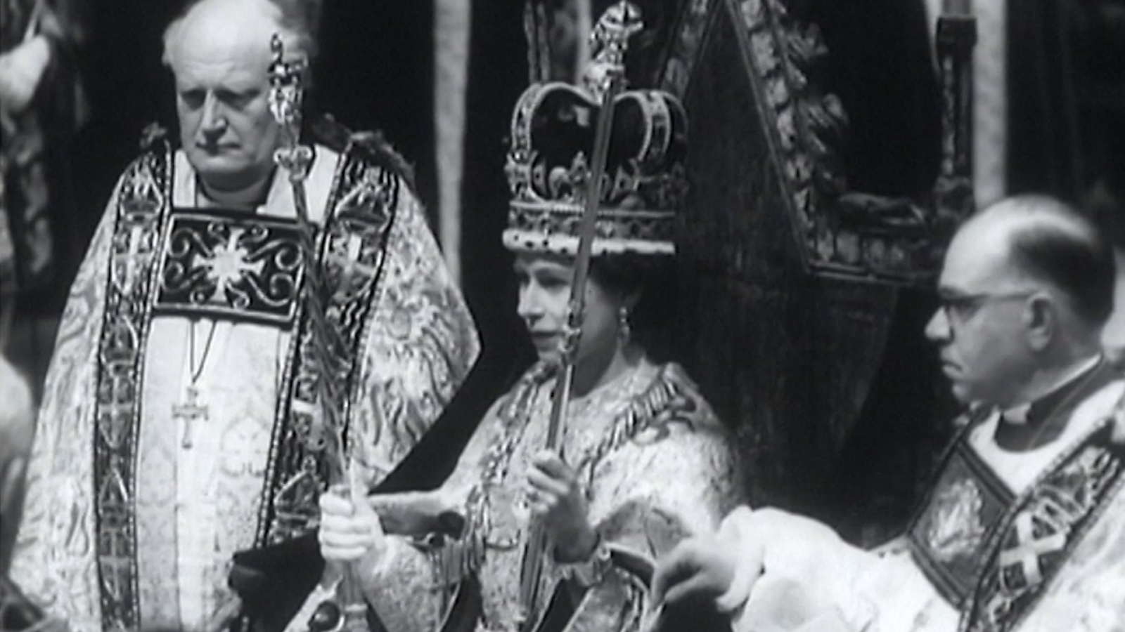 Image result for coronation of queen elizabeth ii