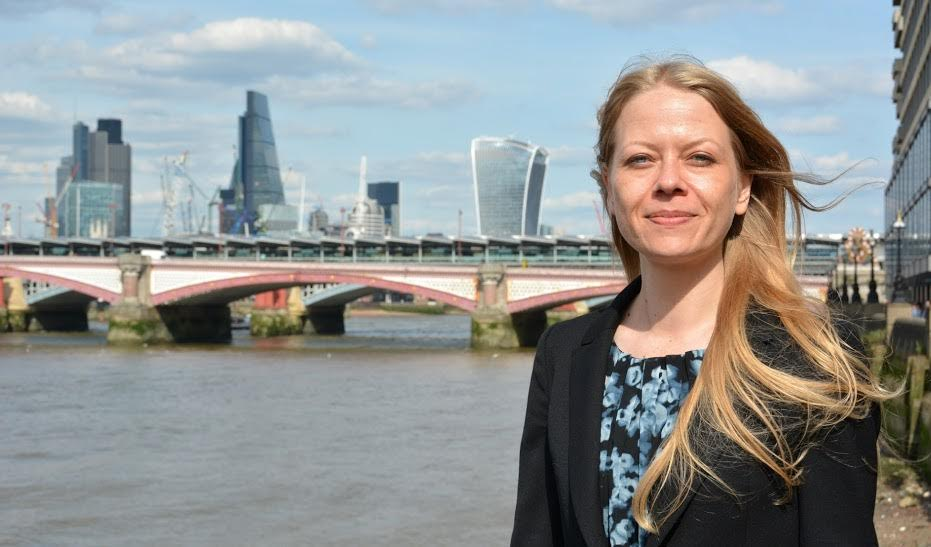 Sian Berry Green Party candidate