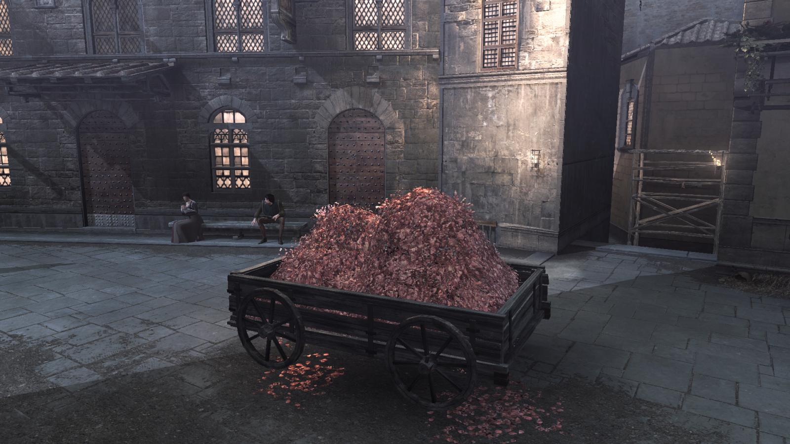 Assassin\'s Creed Haystack Hay Bale