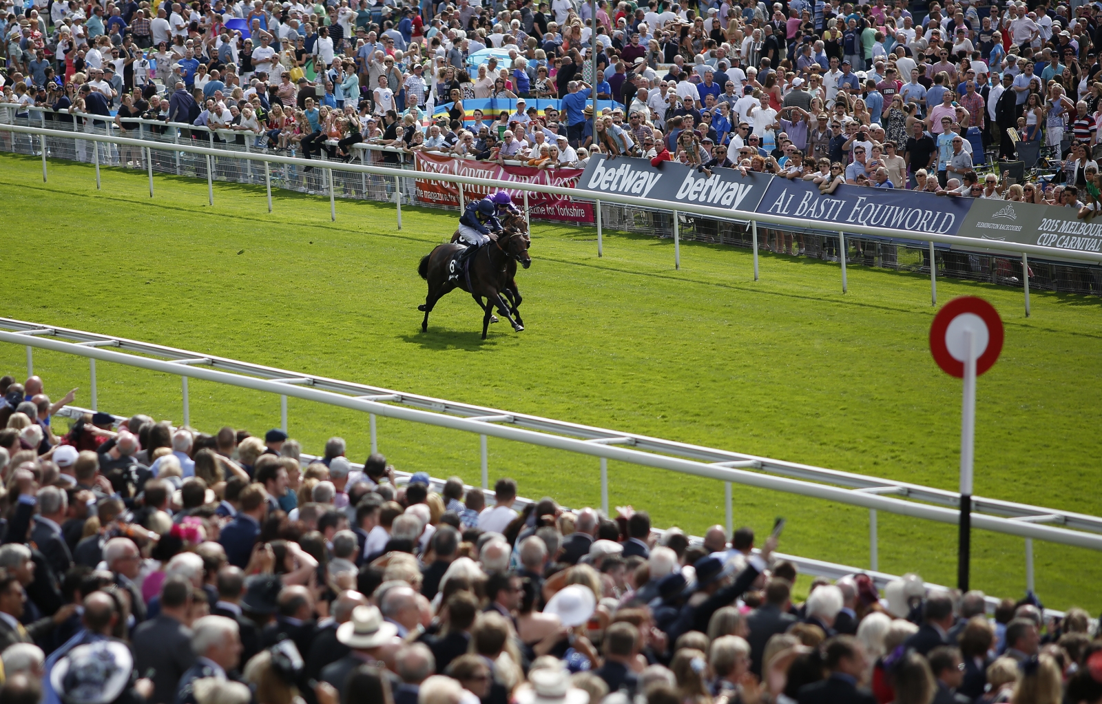 Storm The Stars wins at York