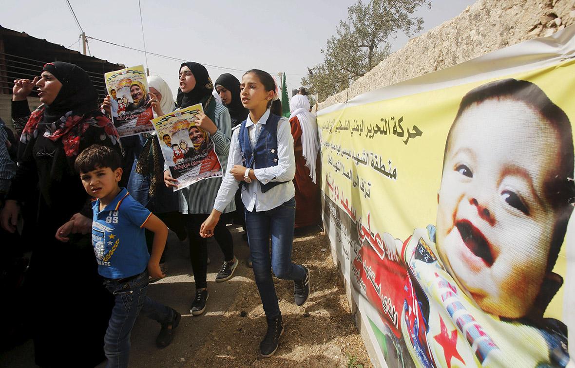 West Bank arson attack