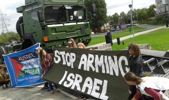 DSEI protests