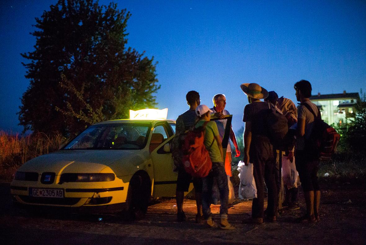 Syria refugees journey through Europe