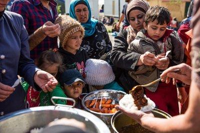 Syria refugees journey through Europe