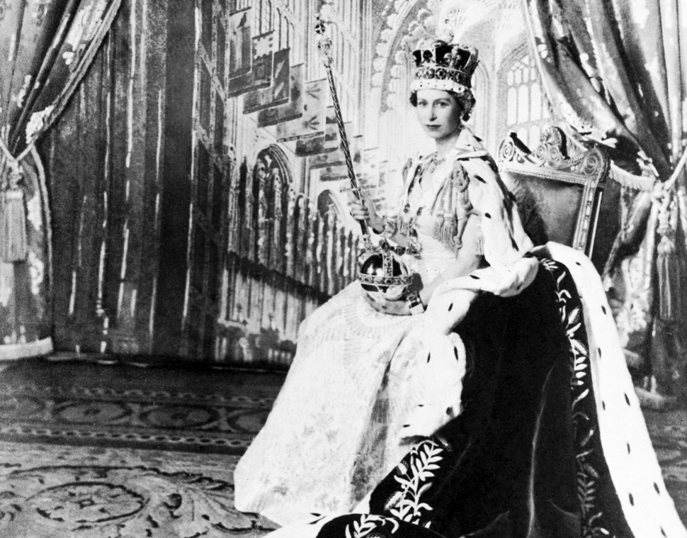Queen Elizabeth coronation