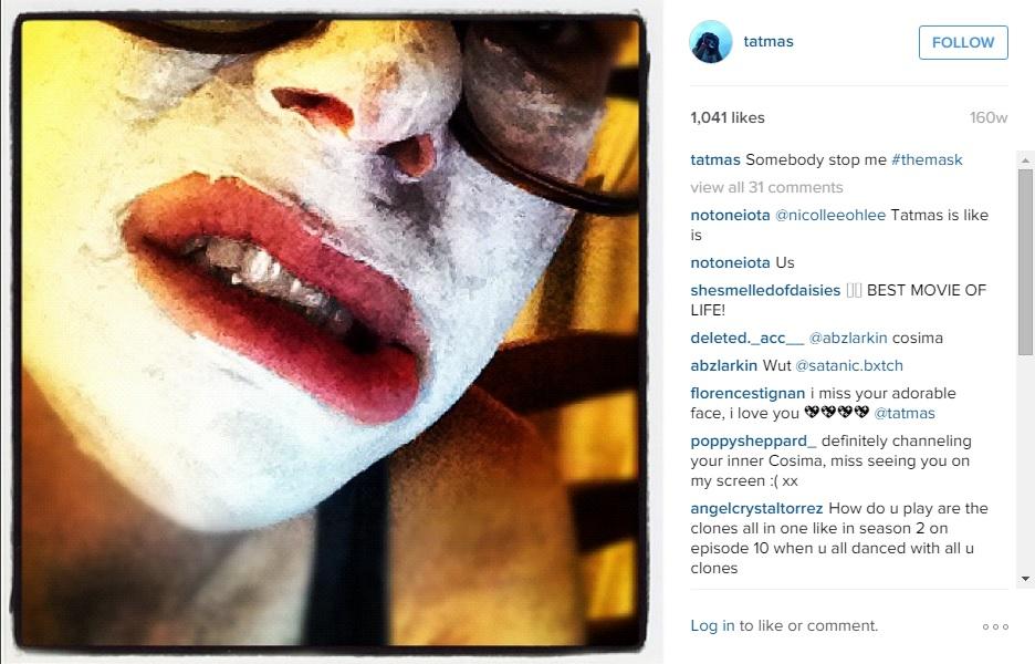 Tatiana Maslany Instagram