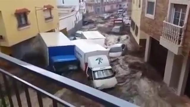 floods Spain