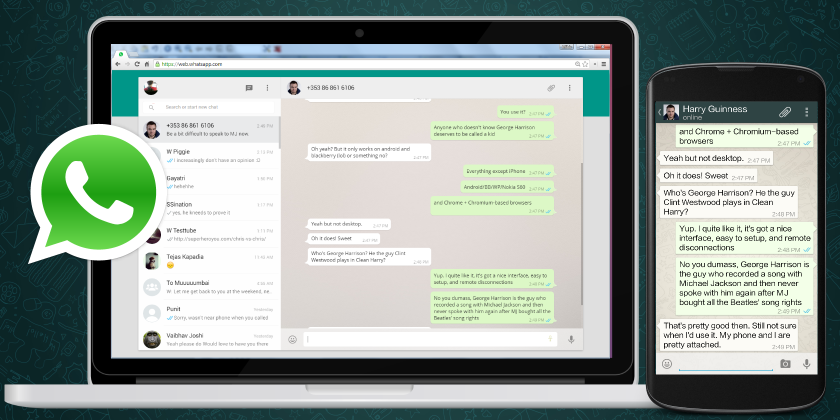 Update WhatsApp Web to prevent being hacked