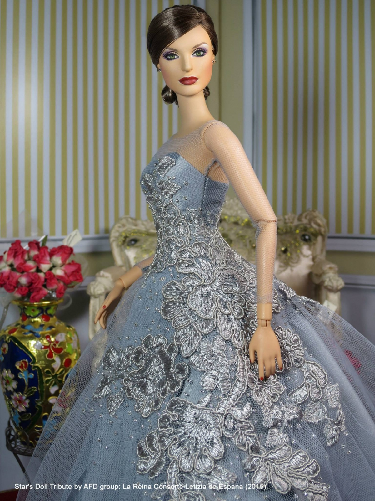 Queen Letizia doll