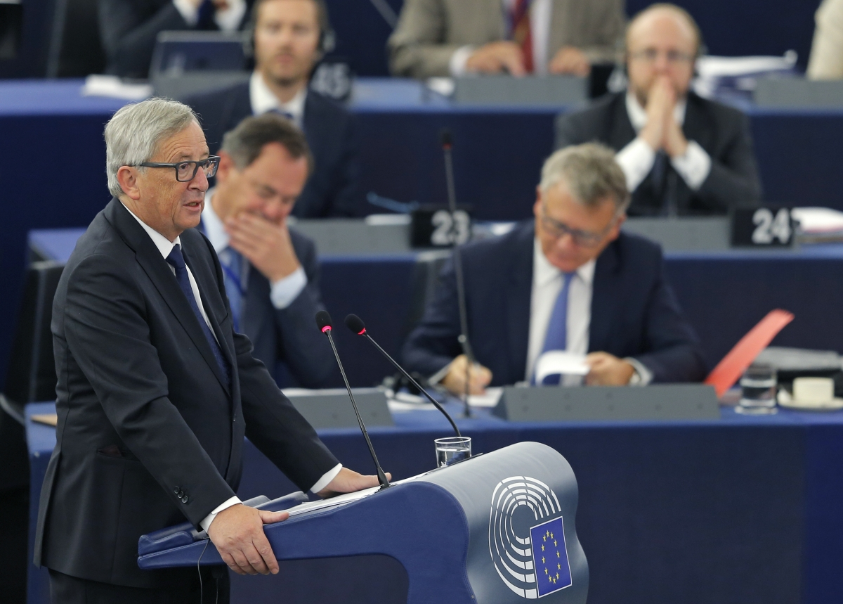 European Commission President Jean-Claude Juncker SOTEU