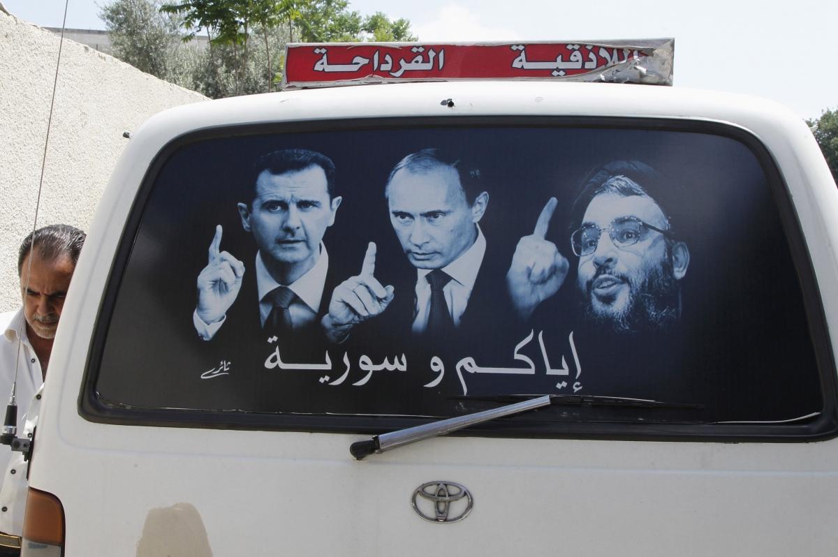 Syria's President Assad, Russia's President Putin, andHezbollah