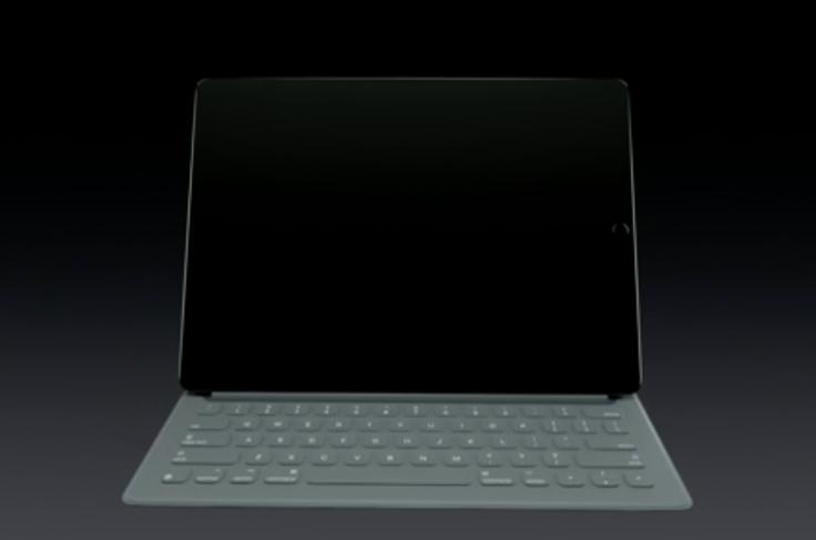 iPad Pro smart keyboard