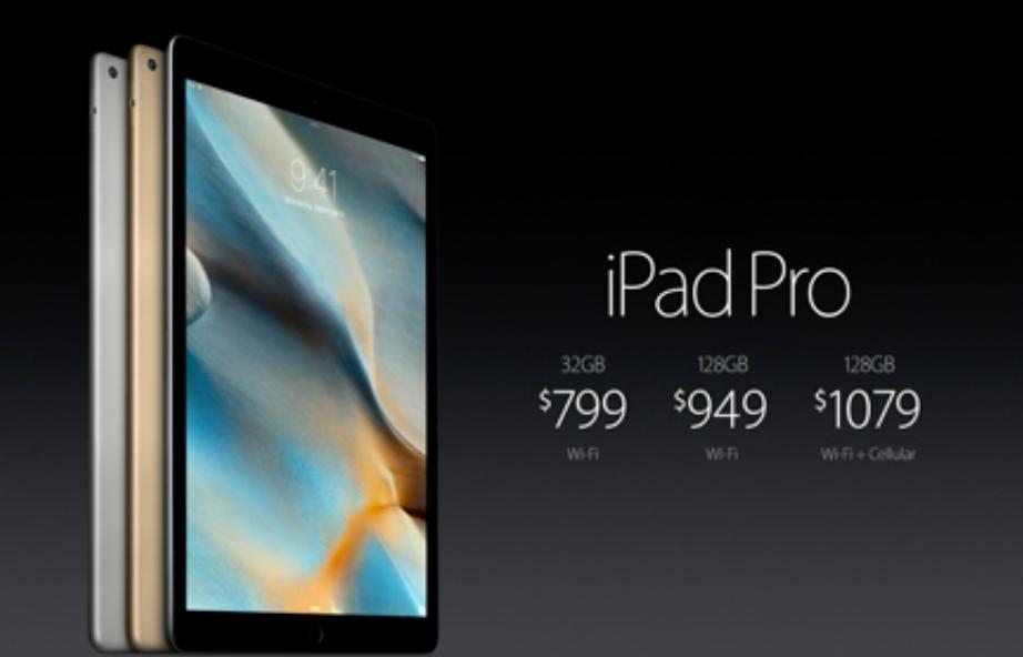 iPad Pro price