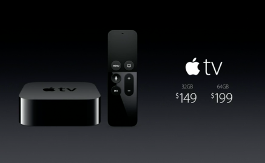 Apple TV price