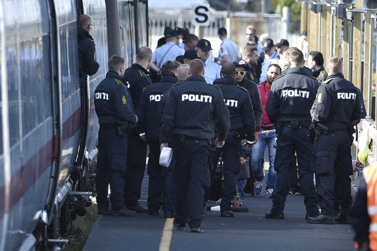 migrants Denmark Germany Syria