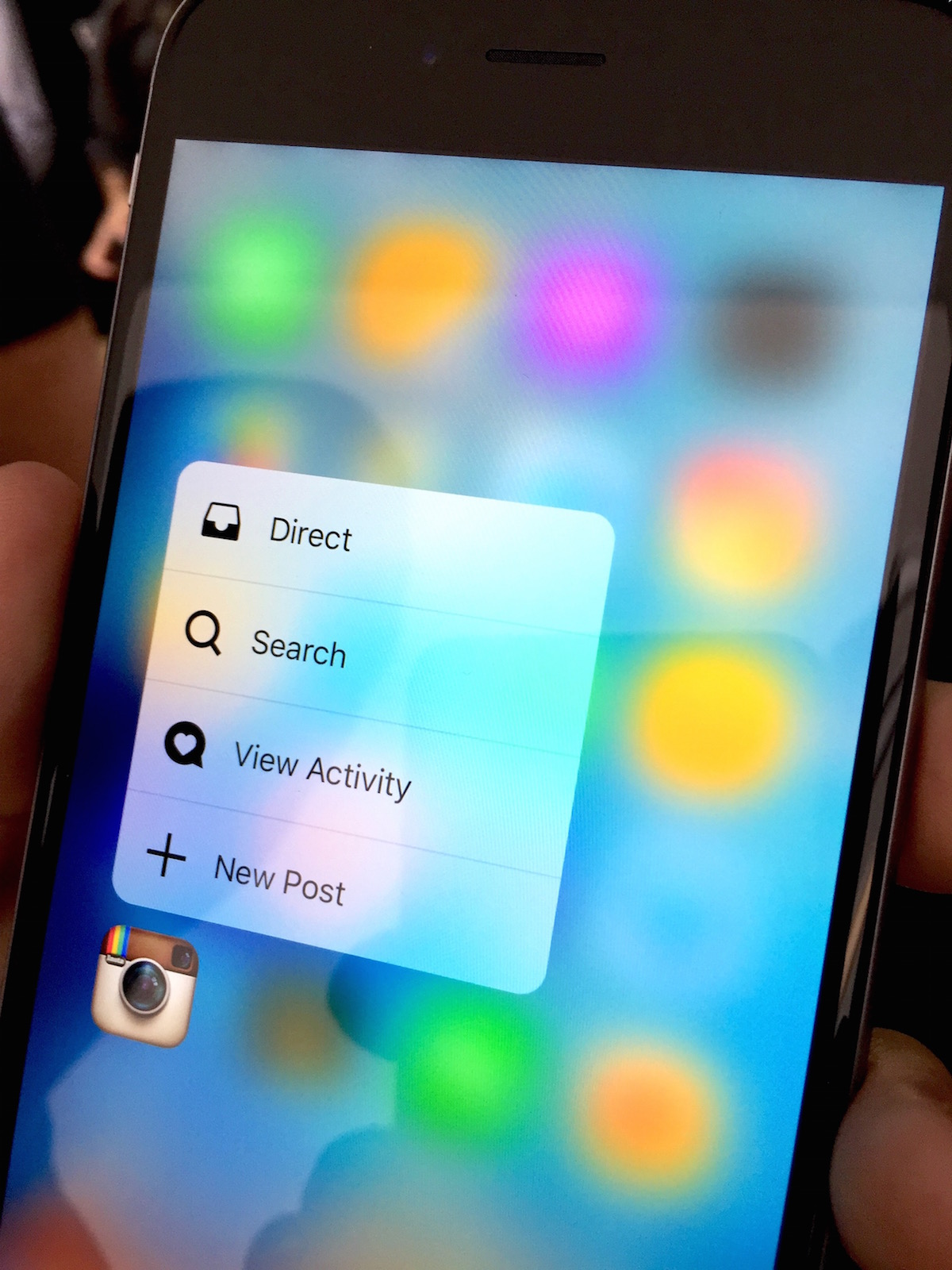 iPhone 6s hands-on 3d Touch