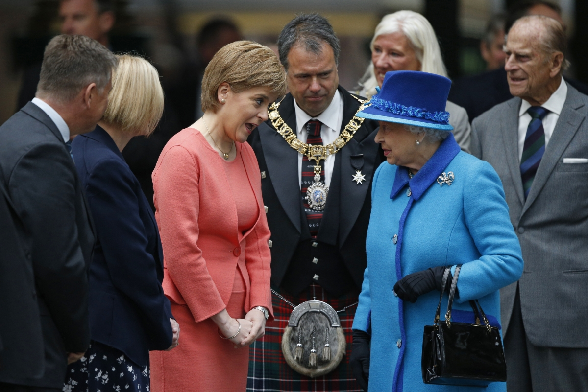 Queen Sturgeon Scotland