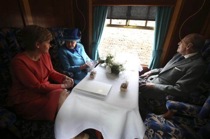 Queen Sturgeon Scotland