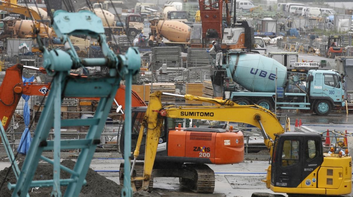 Construction site, Tokyo