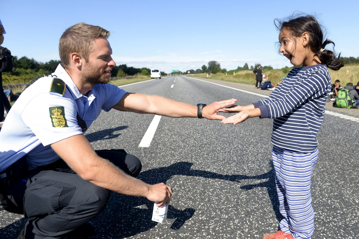 Denmark Migrant Eu Refugee crisis