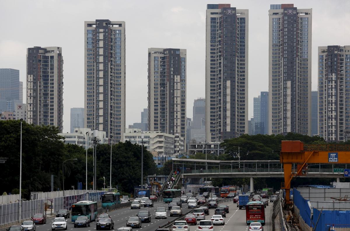 Apartment towers, Shenzhen