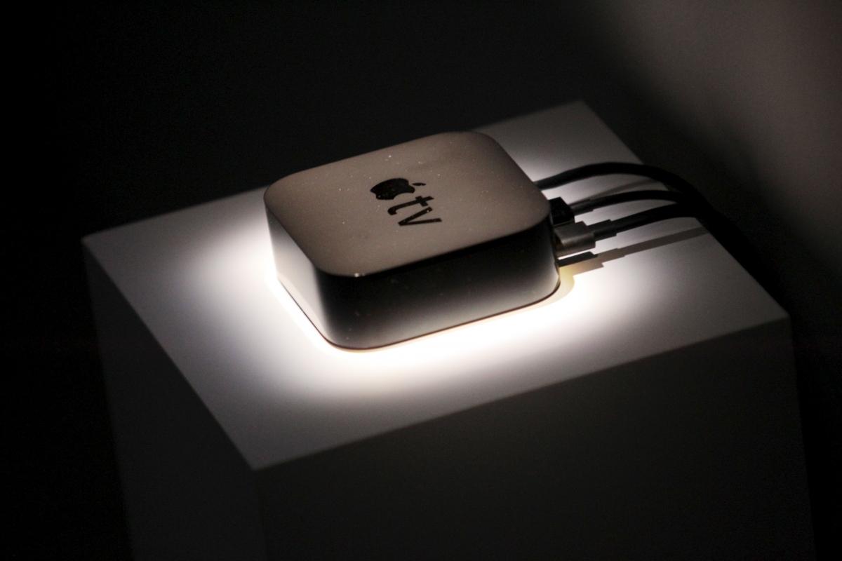 Apple TV fourth generation with Siri