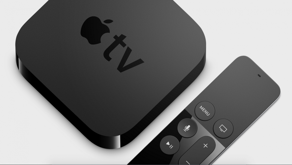 Apple TV with Siri remote
