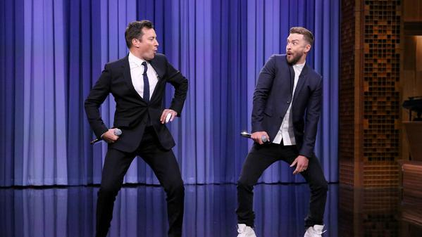Justin Timberlake and Jimmy Fallon