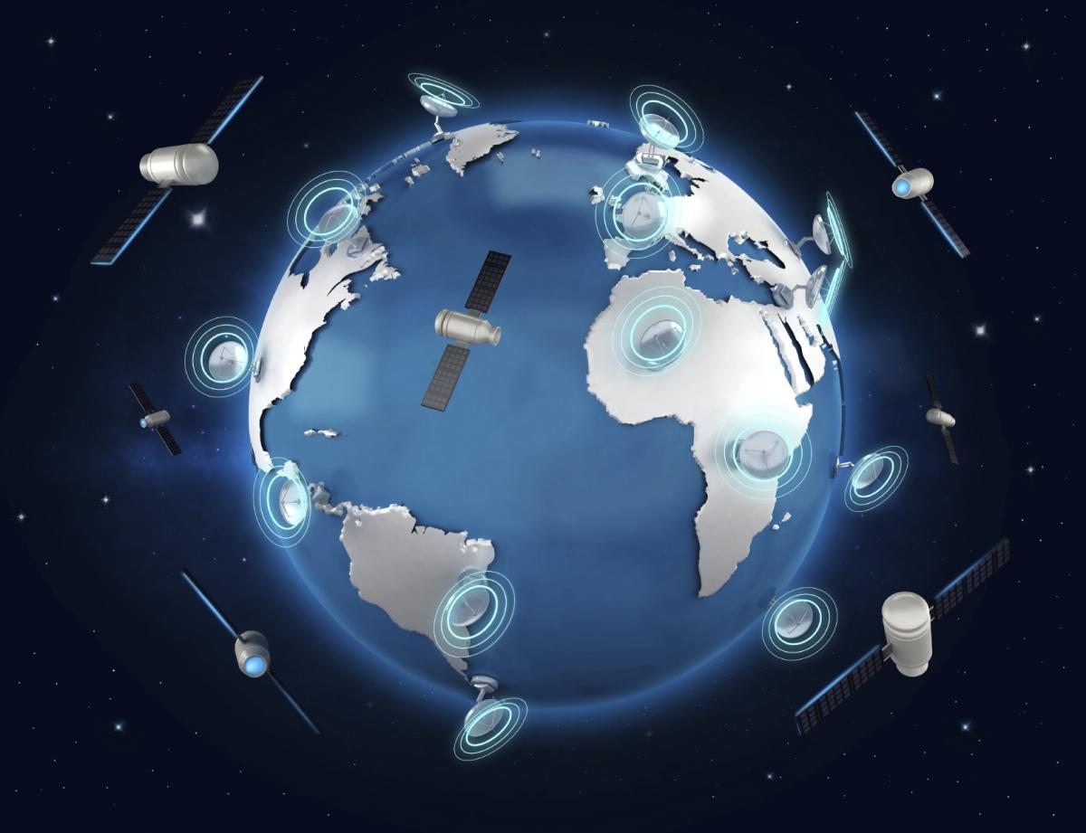 Satellite internet connections